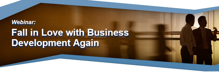 Fall in love with business development Webinar
