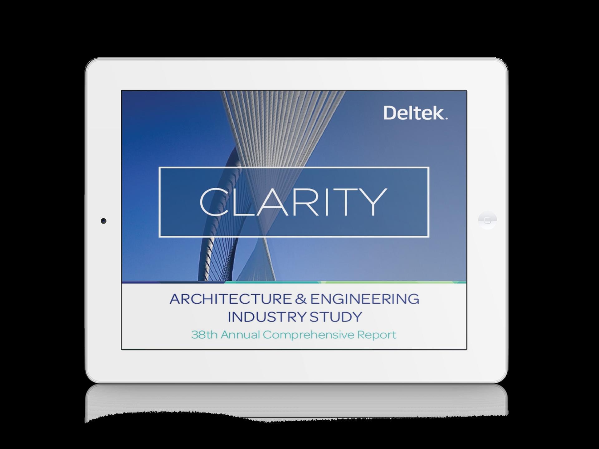 Deltek Clarity 2017 Study